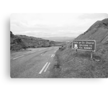 Cork/Kerry border Canvas Print