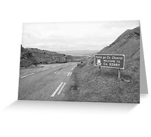 Cork/Kerry border Greeting Card