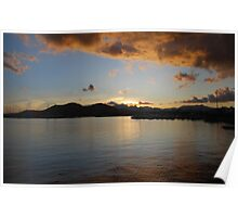 Alcudia Harbour Poster