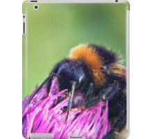 Bee on Thistle iPad Case/Skin
