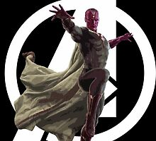 The Vision, Avengers Age of Ultron by silverbrush