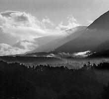 Misty Mountains by amp1963