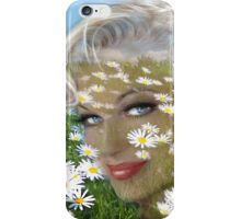 Daisies Hill Smile iPhone Case/Skin