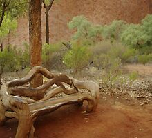 seat for the wood by Nathan Pearce