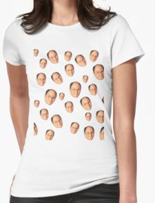 George Costanza Heads Womens Fitted T-Shirt