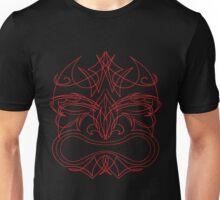 Pinstriped Tiki #1 Unisex T-Shirt