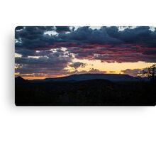Sedona Sunset 2 Canvas Print