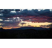 Sedona Sunset 2 Photographic Print