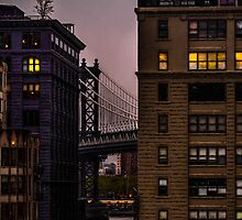 Evening In DUMBO by Chris Lord