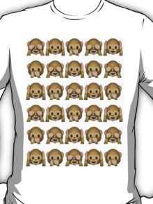 Monkey emoji T-Shirt