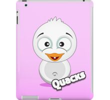 Farm Animal Fun Games - Quacks - Pink Gradient iPad Case/Skin