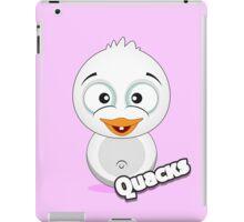 Farm Animal Fun Games - Quacks - Pink iPad Case/Skin