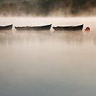 Three Boats by Alan McMorris