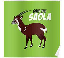 Save the Saola Poster