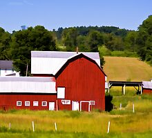 Country Scene by BigD
