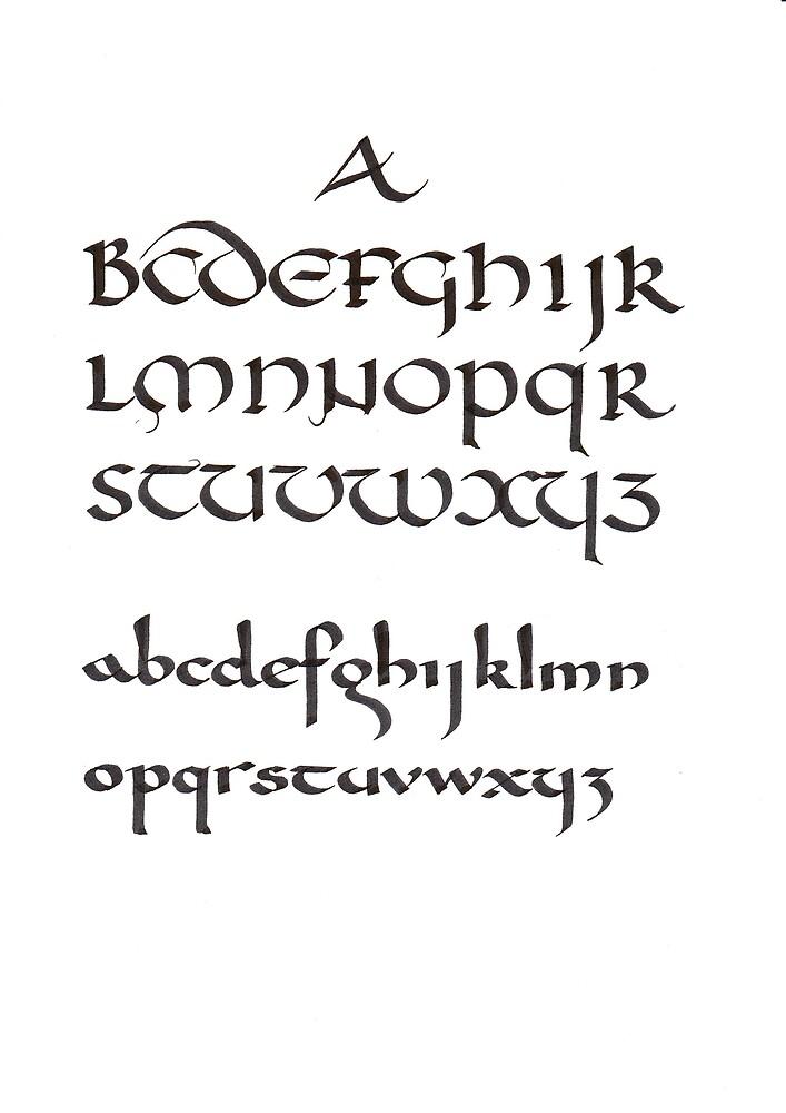 Alphabets by billgrant43