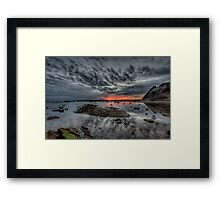 Embers Of Day  - Long Reef Aquatic Park, Sydney - The HDR Experience Framed Print