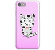 Farm Animal Fun Games - Sparky - Pink Gradient iPhone Case/Skin
