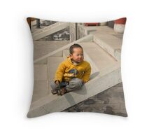Only child Throw Pillow