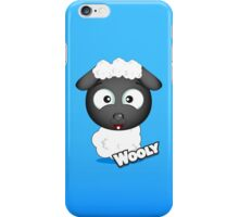Farm Animal Fun Games - Wooly - Blue Gradient iPhone Case/Skin