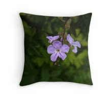 The Little Attention-Grabber Throw Pillow