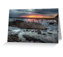 Embers - Long Reef Aquatic Park - The HDR Experience Greeting Card