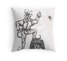 Joker & King Throw Pillow
