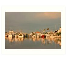 Harbor Light Art Print