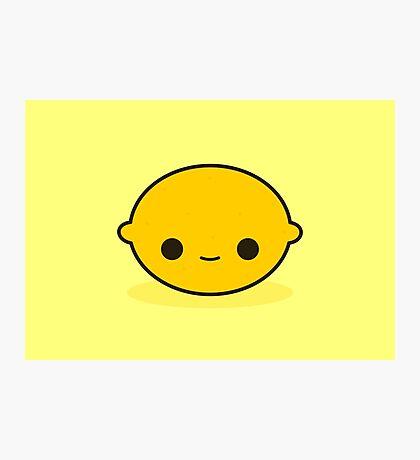 Cute lemon Photographic Print