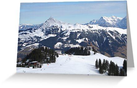 Austrian Alps. by prestongeorge
