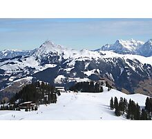 Austrian Alps. Photographic Print