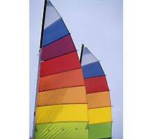 Colorful Sails Photographic Print
