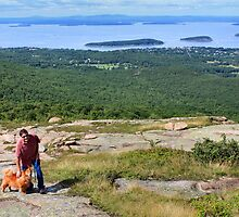 'Cindy, Scott, and Bar Harbor...' by Scott Bricker
