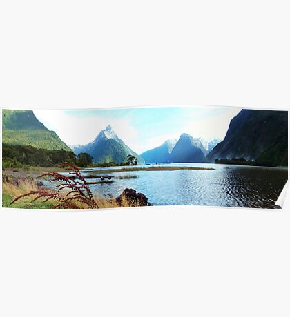 Milford Sound, New Zealand Poster