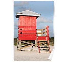Lifeguard Shack Poster