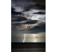 Stormy Night Photographic Print