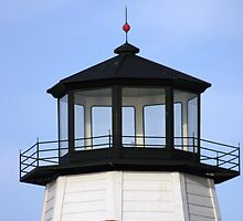 Lighthouse at the pass by kinz4photo