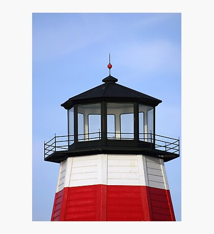 Lighthouse at the pass Photographic Print