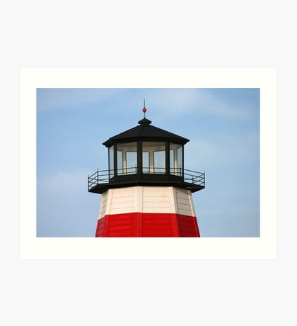 Johns Pass Lighthouse Art Print