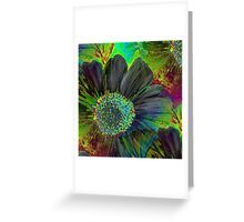 Kodachrome Floral Greeting Card