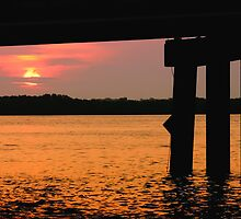Johns Pass at Sunrise. by kinz4photo