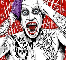"""Suicide Squad"" Joker by averagejoeart"