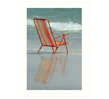 Chair Reflection Art Print