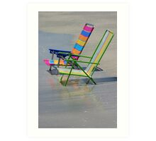 Two Chairs Art Print