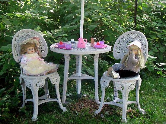 Dolly Tea Time by Linda Miller Gesualdo