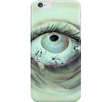 Is there something in my eye? iPhone Case/Skin