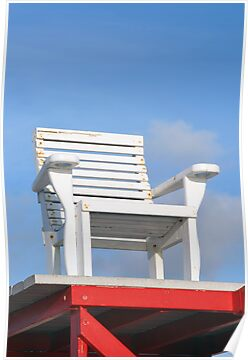 Life Guard Chair by kinz4photo