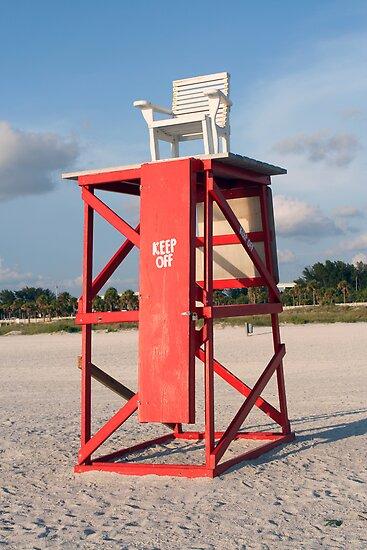 Lifeguard Chair by kinz4photo