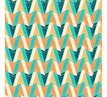 Shapes pattern Photographic Print