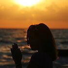 Prayer at the Sea by kinz4photo